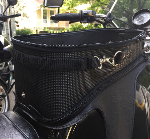 Tank Bag Storage Compartment