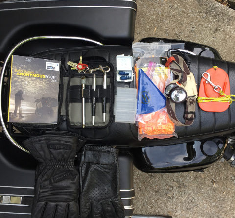What's In My Tank Bag - Otus