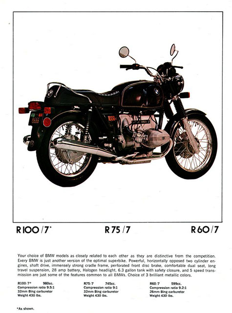 1977 Airhead Brochure