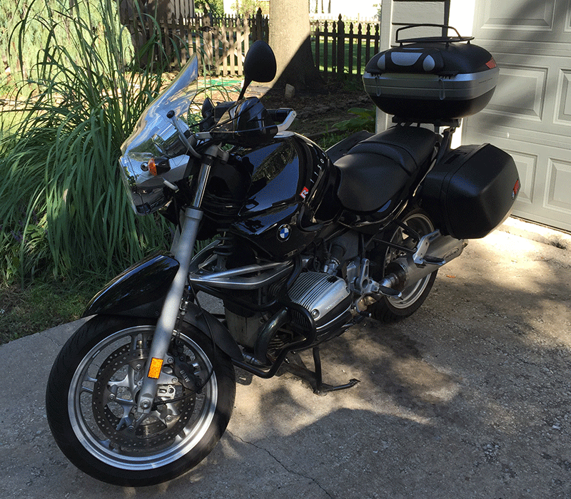 Strix - My 2003 R1150R Motorcycle
