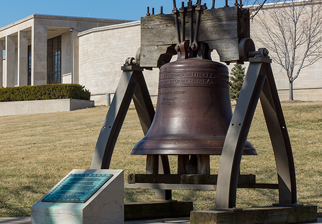 Replica Liberty Bell at Harry S. Truman Presidential Library